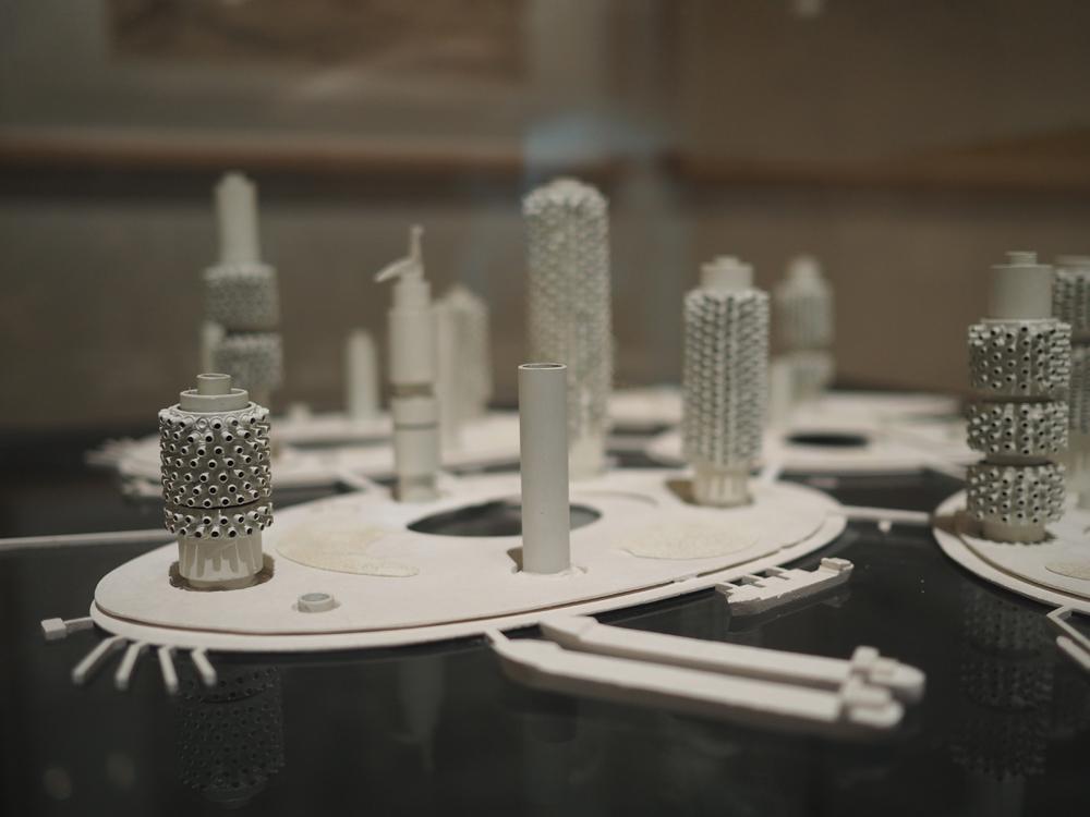 Marine City (ville sur la mer), projet non réalisé (Kiyonori Kikutake - 1958-1963)