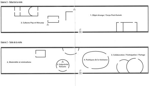 Plan de l'exposition Japanorama